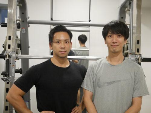 レップジムのトレーナー・田野倉佑さんの写真です。